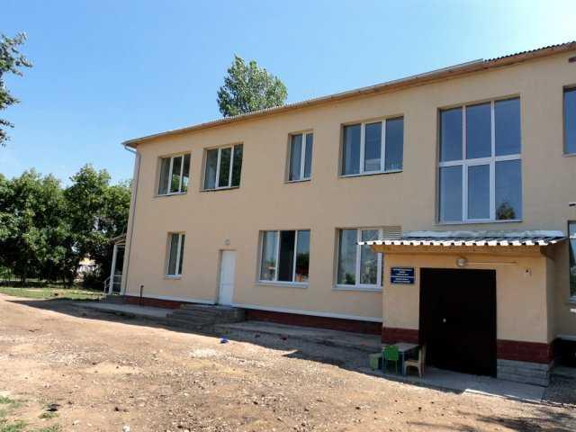 Обновленное здание детского сада